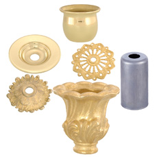 Cups, Candle Cups, Socket Cups, and Metal Bobesche