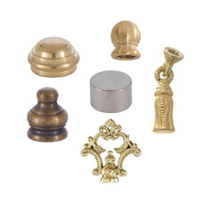 Finials, Knobs, Tassels, Caps
