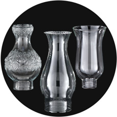 Glass Lamp Chimneys