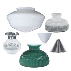 Glass Lamp Shades, Fixture Shade and Globes