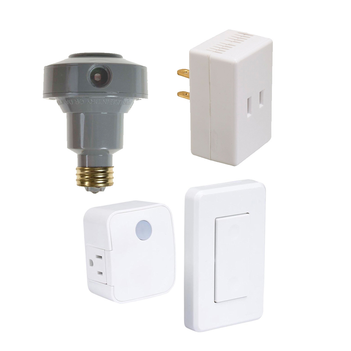 Dimmers, Motion Control, Dusk to Dawn Sensors