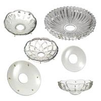 Crystal Bobeches and Dishes