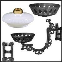 Iron Wall Brackets and Parts
