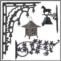 Early Style Cast Iron Accessories