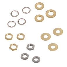 Washers and Nuts Lamp Hardware