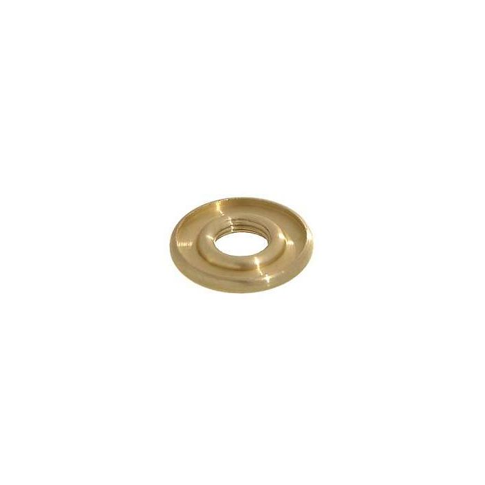 """Stamped Brass Check Rings Lamp Part 1 3//16/"""" Wide 3//8/"""" Diameter 1//8/"""" Thick 10 Pcs"""