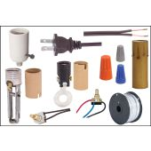 Lamp Repair Kit for Reflector Style Floor Lamps, buy complete or individual components including 3-Way Mogul Socket