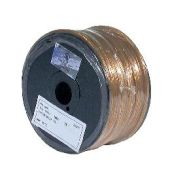 250 ft. Clear Gold, 18/2 Plastic Lamp Spool Cord - Wire