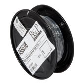 HIGH HEAT Black Color Stranded Braid Wire, Choice of SF and Voltage Rating, 250 Ft. Spool