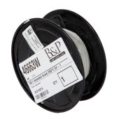 HIGH HEAT White Color Stranded Braid Wire, Choice of SF and Voltage Rating, 250 Ft. Spool